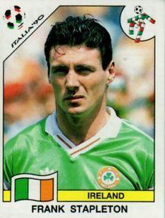 Panini-Italia-90-Frank-Stapleton-Ireland